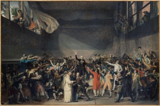 Le Serment du Jeu de Paume de Jacques-Louis David