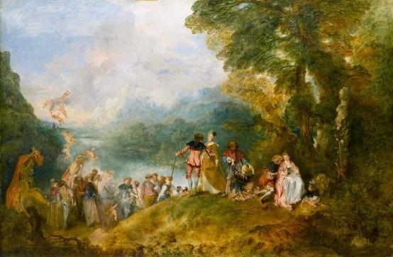 L'Embarquement pour Cythère, Antoine Watteau