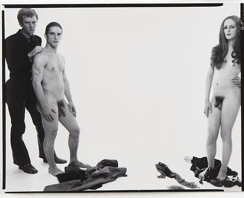 The Lovers : Joe Dallessandro (au centre ) et Candy Darling (à droite) (c) Andy Warhol