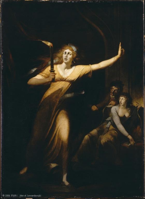 "Johann Füssli, ""Lady Macbeth somnambule"""