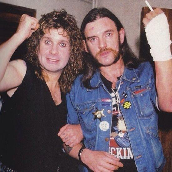 lemmy ozzy 1991