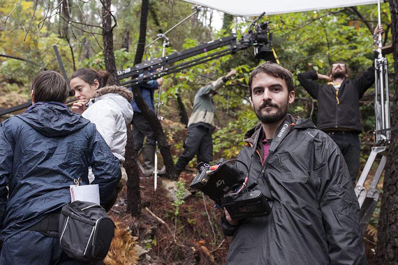 """Julien Noël sur le tournage de """"La chair"""" - Les Films Invisibles (2016)"""