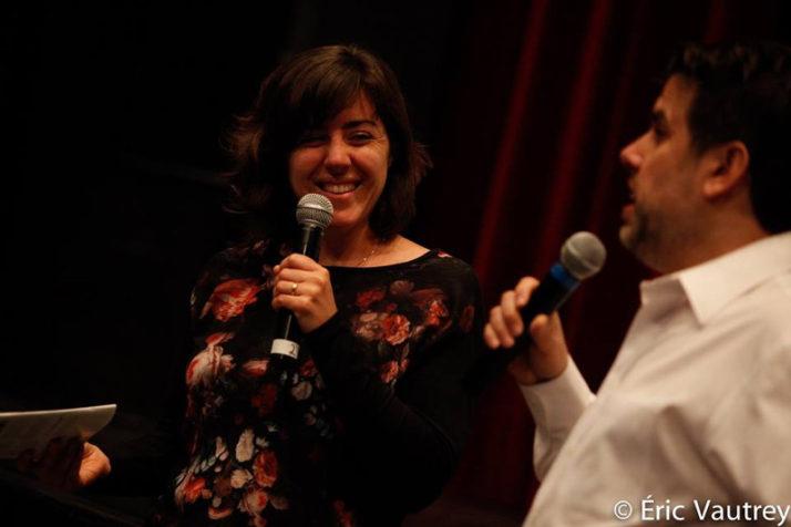 Catherine Benoît et Daniel Racine au festival 48 images seconde de Florac © Éric Vautrey 2017
