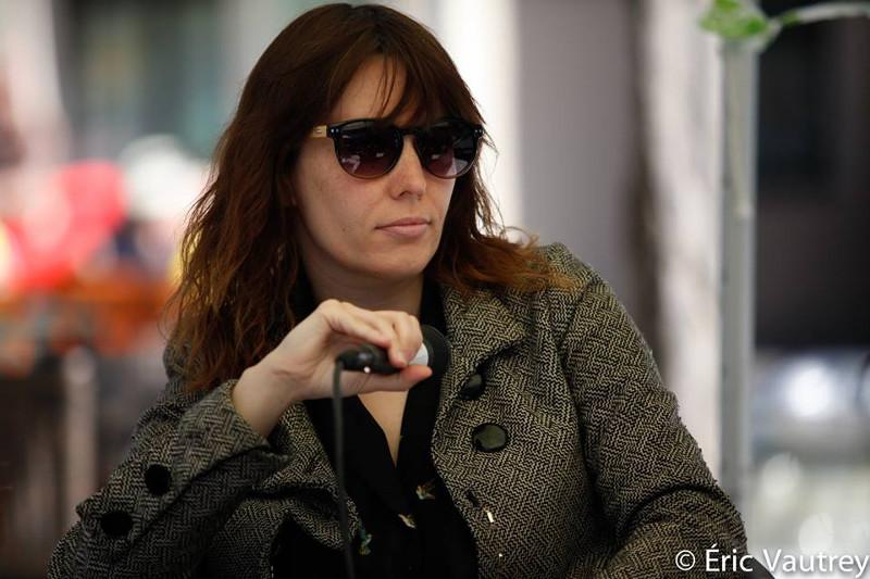 Sophie Goyette au festival 48 images seconde de Florac à l'occasion de la Table ronde consacrée au jeune cinéma québécois © Éric Vautrey