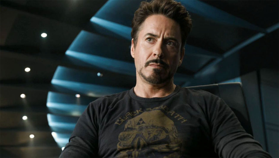 "Robert Downey, Jr. dans ""Avengers"""