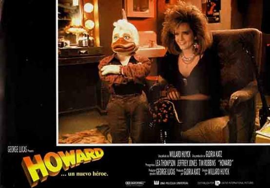 Beverly (Lea Thompson) et Howard (Ed Gale / Chip Zien), a new kind of romance - Lobby Card