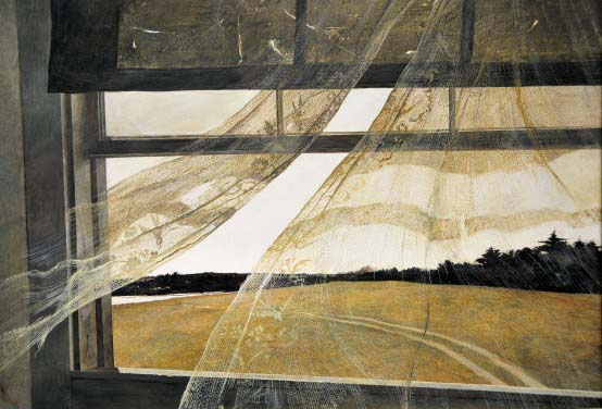 Andrew Wyeth - Wind from the Sea, 1947
