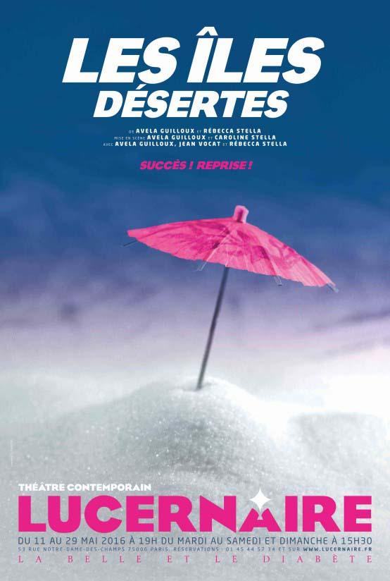 LES_ILES_DESERTES_AFFICHEREPRISE PRINT