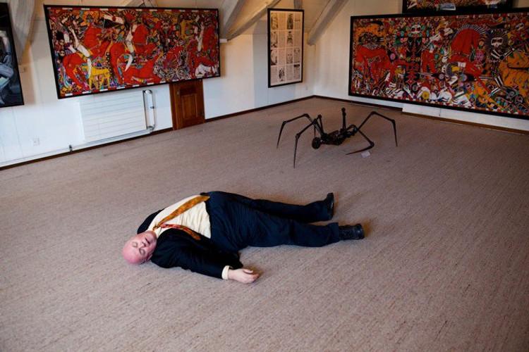 dead frank araignée