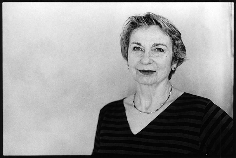 ESTHER HOFFENBERG, RÉALISATRICE, PHOTOGRAPHIÉE AU FESTIVAL CINÉMA D'ALÈS ITINÉRANCES, MARS 2017 - ©Patrice Terraz/Signatures