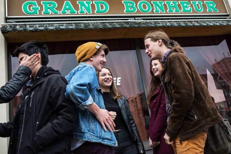 PRÉSENTATION DES FILMS DE FIN D'ANNÉE POUR LA SECTION CINÉMA DES LYCÉENS DE CORBEIL-ESSONNES, 2016 - ©Patrice Terraz/Signatures
