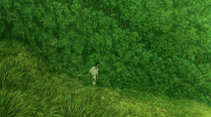 La tortue roude, de Michael Dudok de Wit © Studio Ghibli, Arte, Prima Linea Productions, Belvision, CN4 Productions 2016