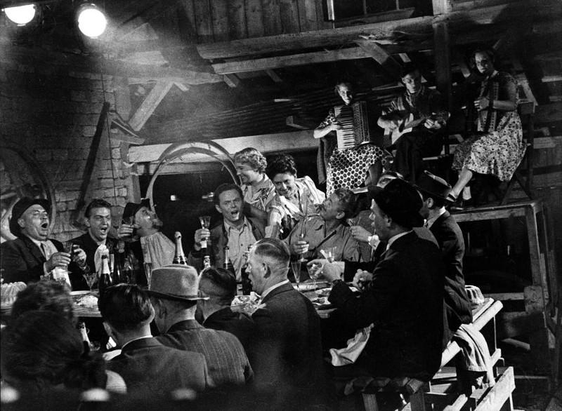 Le banquet des fraudeurs, de Henri Storck ©  Tevefilm, E. Film 1951