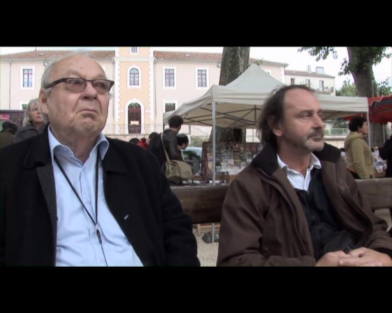 """""""Mourir? Plutôt crever ! """" Le regretté Bob, dit Siné. Festival de Lasalle 2010"""