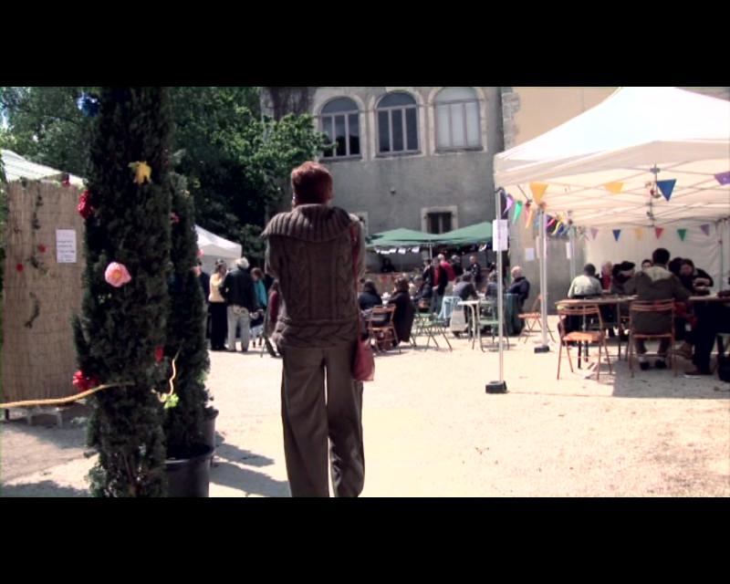 """Festival de Lasalle 2010 côté cour, extrait du film """"Par champs et contrechamps"""" © Vincent Mardelet 2011"""