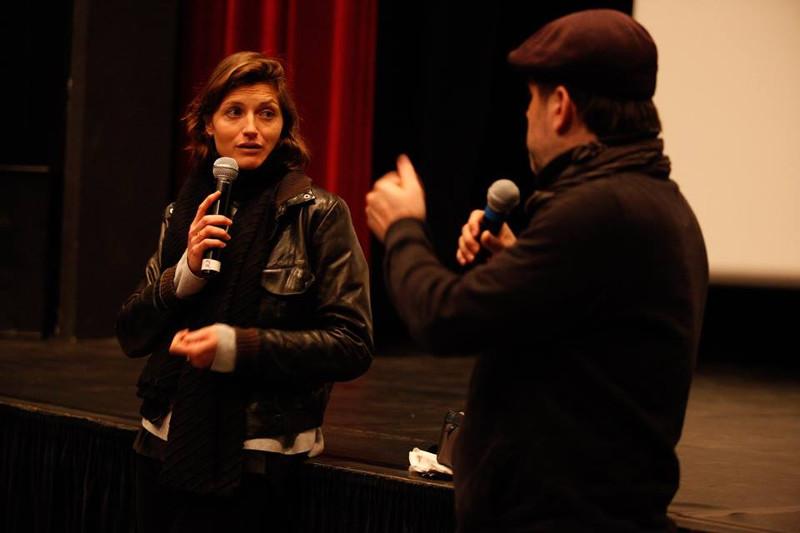 Marie-Eve Nadeau et Daniel Racine au festival 48 images seconde de Florac © Éric Vautrey 2017
