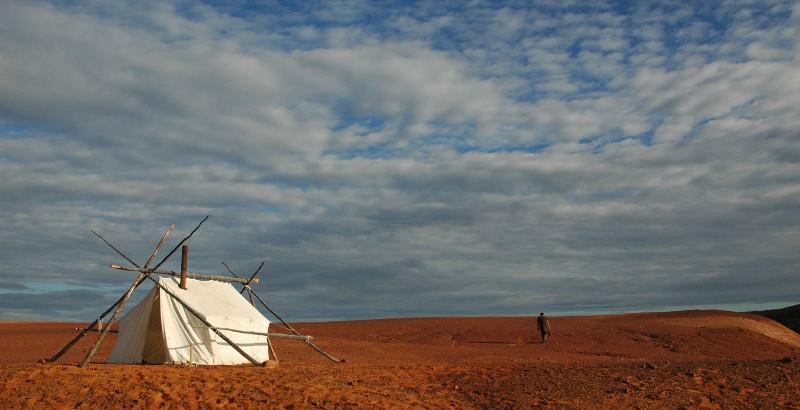 Une tente sur Mars ( 2008 ) de Martin Bureau et Luc Renaud